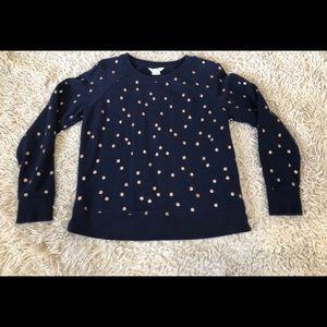 Bodan Polka-dot Sweatshirt SZ Small